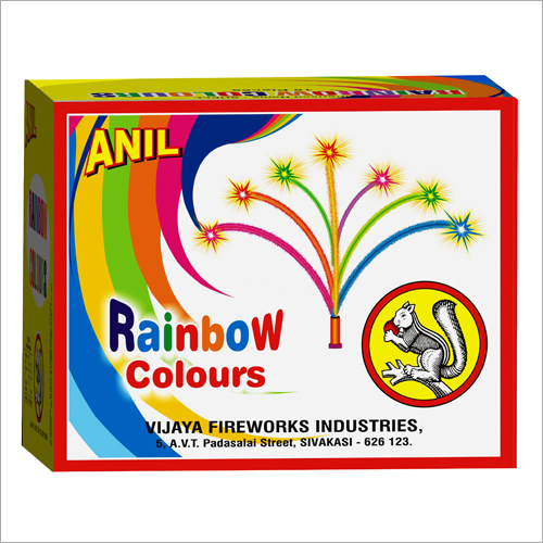 Rainbow Colours 15 Firecracker