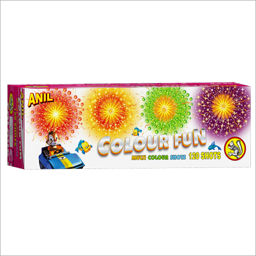 Colour Fun 120 Shots Firecrackers