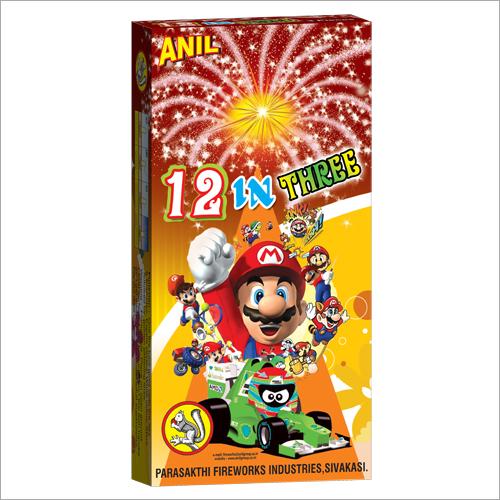 12 in 3 Firecrackers