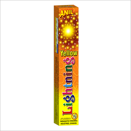 Lighting Yellow Firecrackers