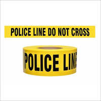 Do Not Cross Crime Scene Tape