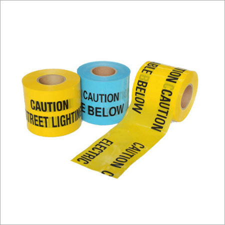 Non-Detectable Underground Warning Tape