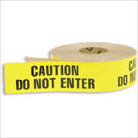 Yellow PVC Caution Tapes