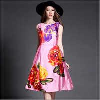 Ruhi Pink Western Dress