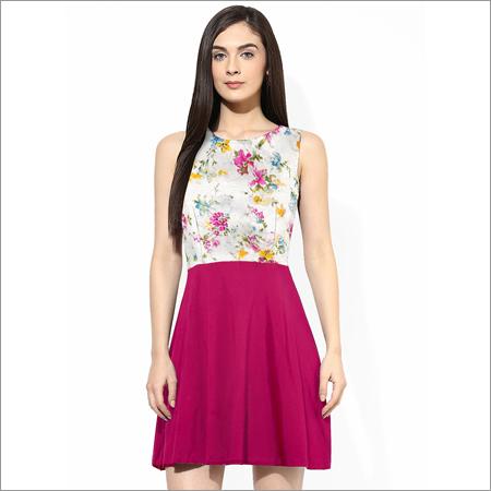Yoyo Pink Western Dress