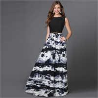 Ladies Jeny Black Gown