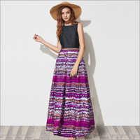 Ladies Vista Purple Gown