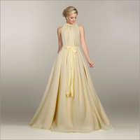 Ladies Dyna Cream Gown