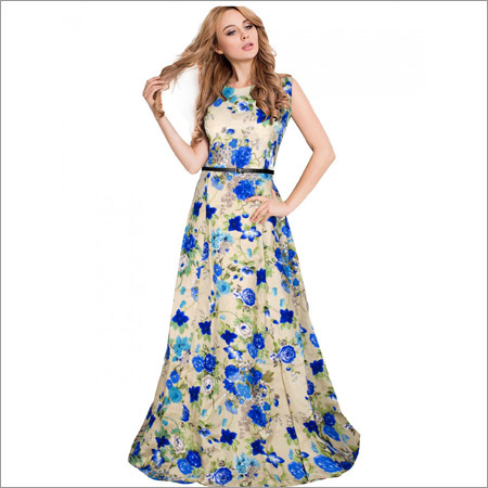 Ladies Yashvi Blue Gown