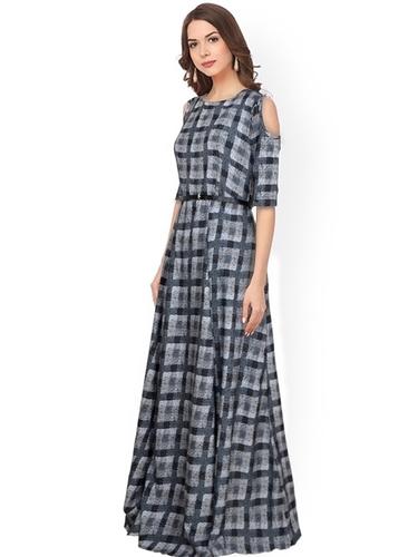 Ladies Maroon Gown