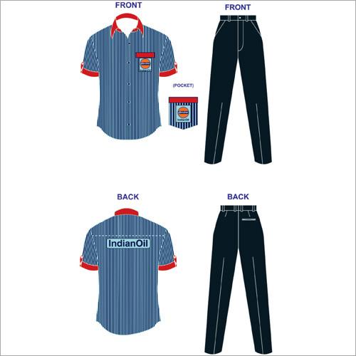 IOCL Petrol Pump Uniform