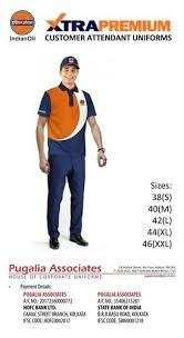 Women Petro Pump Uniform