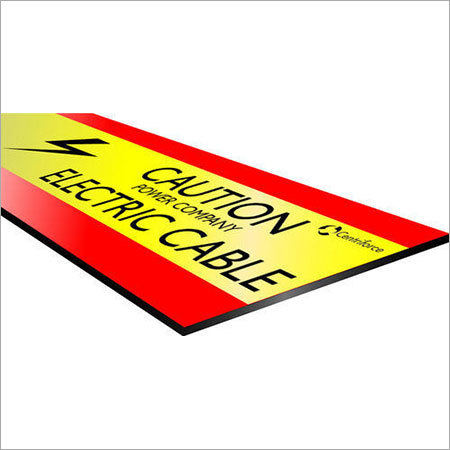 Underground Warning Tape Tile