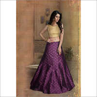 Ladies Rubi Purple Lehenga