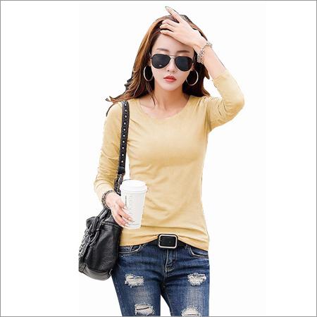 Ladies Chiku color T-Shirts
