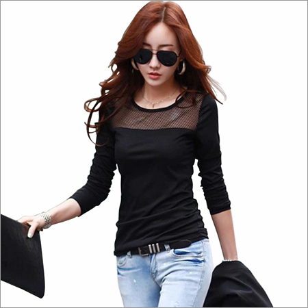 Ladies Tipsy Black T-Shirts