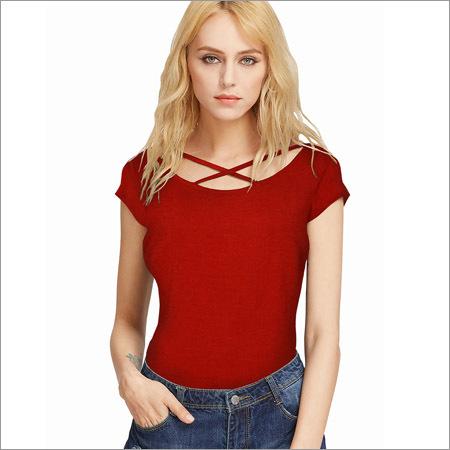 Ladies Red Top