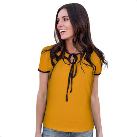 Ladies Yellow Top