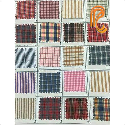 School Check Uniform Fabric