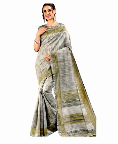 Fancy Bhagalpuri Silk Saree