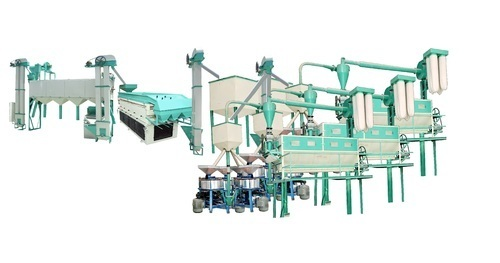 Industrial Automatic Flour Mill