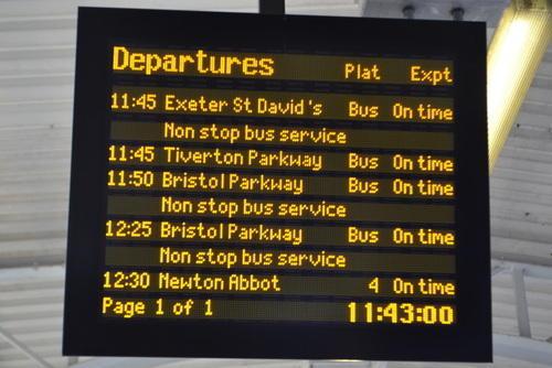 Bus Destination Display Board