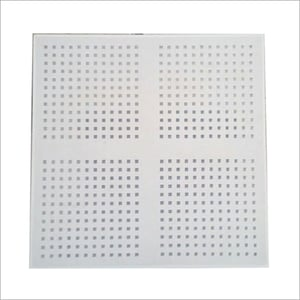 Perforated Gypsum Acoustical Tile