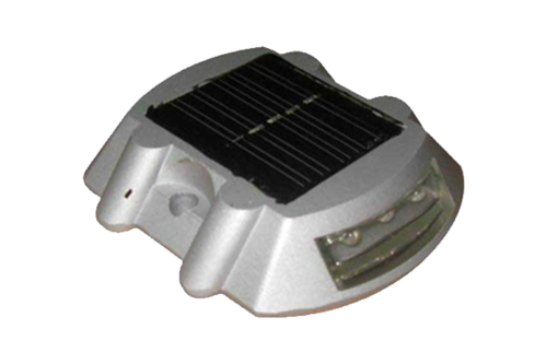 Solar Road Stud without Shank Oval