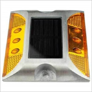 Solar Road Stud Without Shank Square