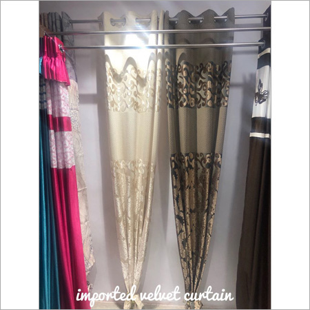Imported Velvet Curtain