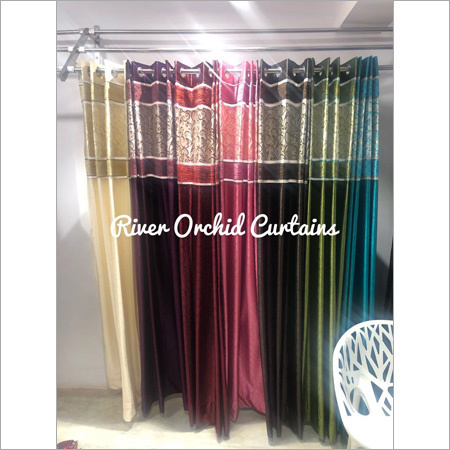 River Orchid Curtains Design: Modern