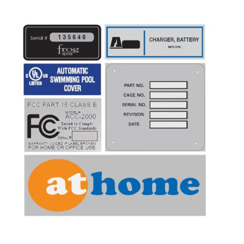 Aluminum Labels