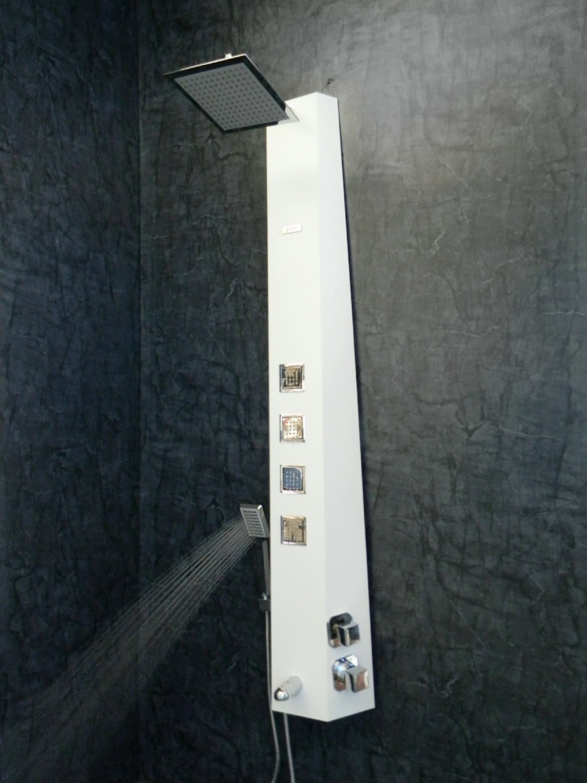 ANGEL - Black Shower Panel