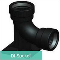 DI Duckfoot Bend Socket