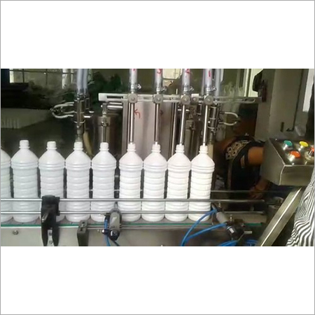 Automatic Floor Cleaner Filling Machine