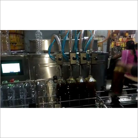 Automatic Mustard Oil Filling