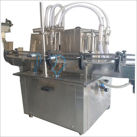Automatic Four Head Bottle Liquid Filling Machine