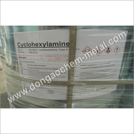 Cyclohexylamine chemical