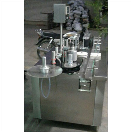 Automatic Self Adhesive Double Side Labeling Machine For Flat Bottle