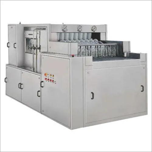 SS Linear Bottle Washing Machine