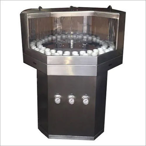 Semi Automatic Rotary Bottle Washing Machine