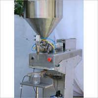 Semi Automatic Paste Filling Machine Pneumatic Operation