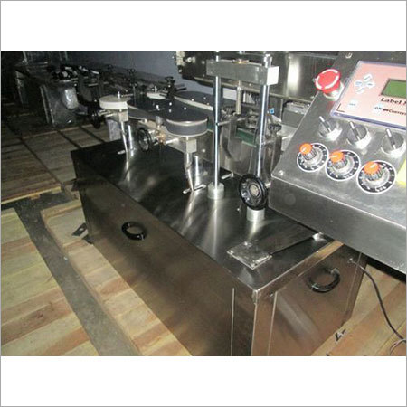 Automatic Injectable Liquid Filling With Rubber Stoppering Machine