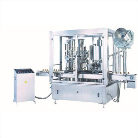 Automatic Powder Filling With Capping Machine