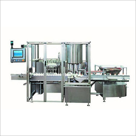 Rotary Motion Type Vial Filling And Rubber Stoppering Machine