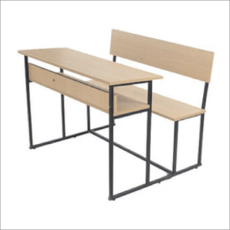 Institutional Dual Desk Bench