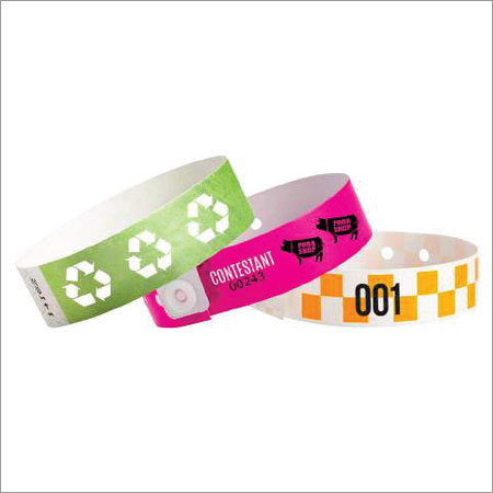 Custom Numbered Wristbands