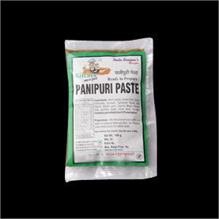 Panipuri Paste - Panipuri Paste Manufacturer, Supplier, Trading