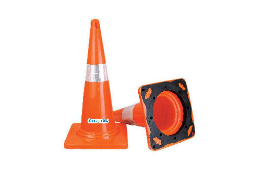 Parking Cone (Single Part With Moulded Rubber)