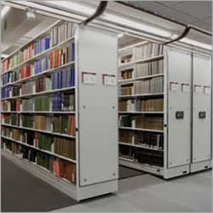 Stainless Steel Library Racks